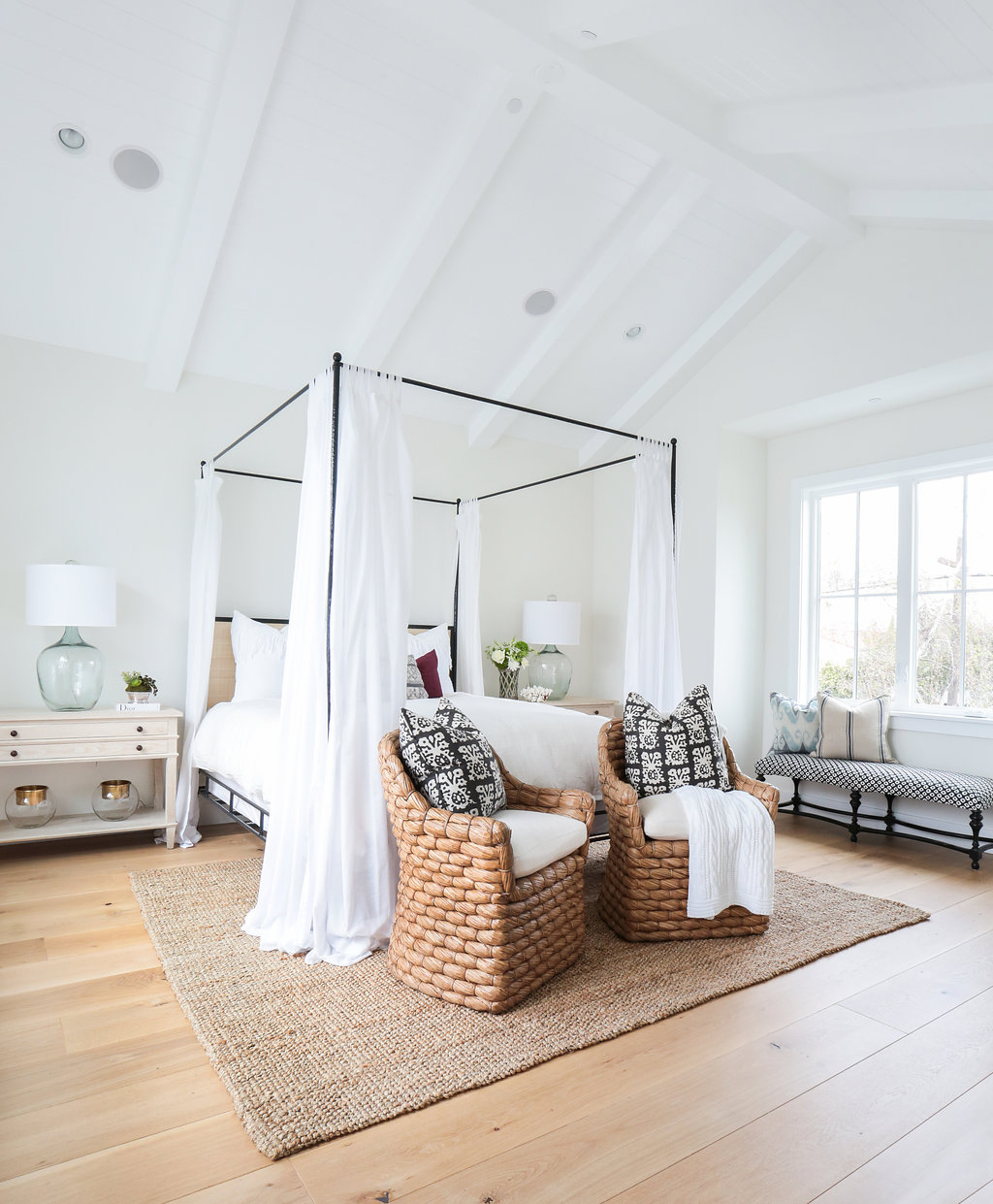 Newport heights modern farmhouse for Modern farmhouse bedroom