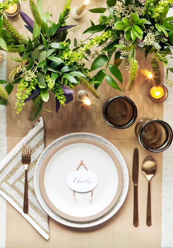 Thanksgiving table inspiration for Elegant table setting for thanksgiving