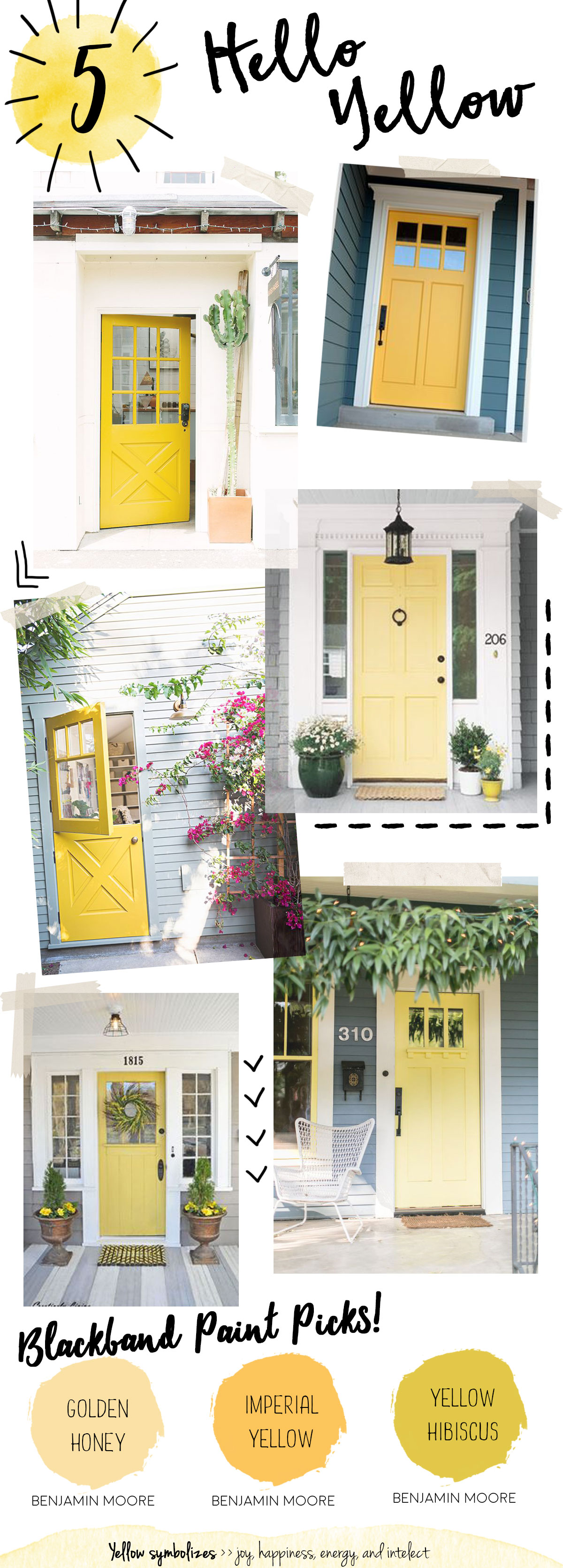 yellow doors