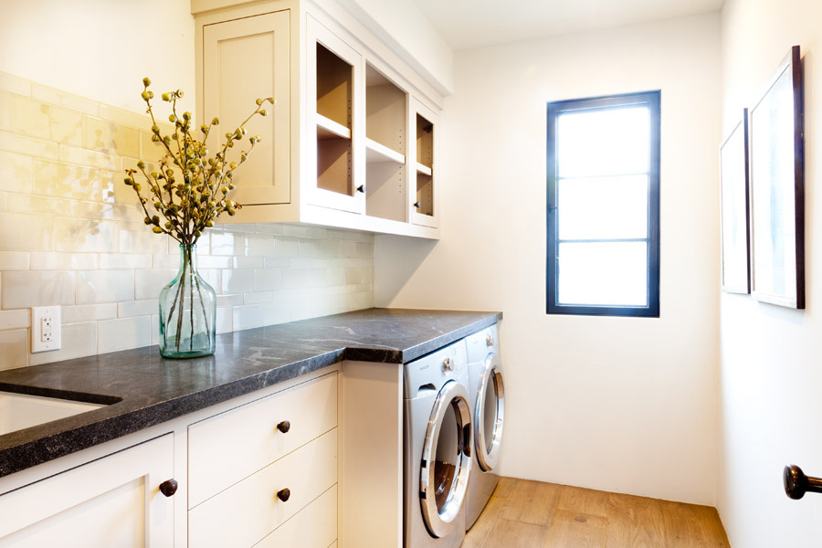 orange county interior design, laundry room