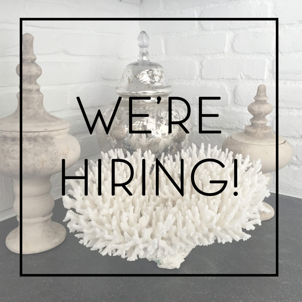 We 39 re hiring for Who hires interior designers